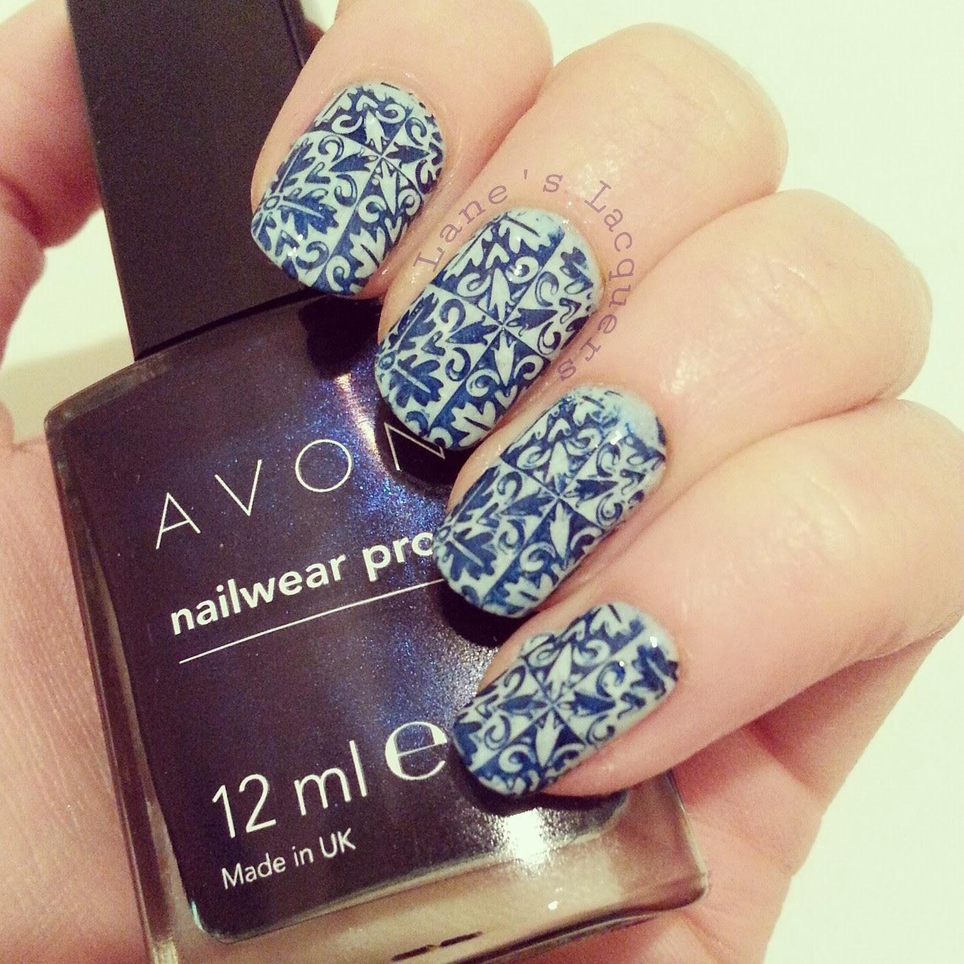 GOT-polish-challenge-tunisian-tile-pattern-nails