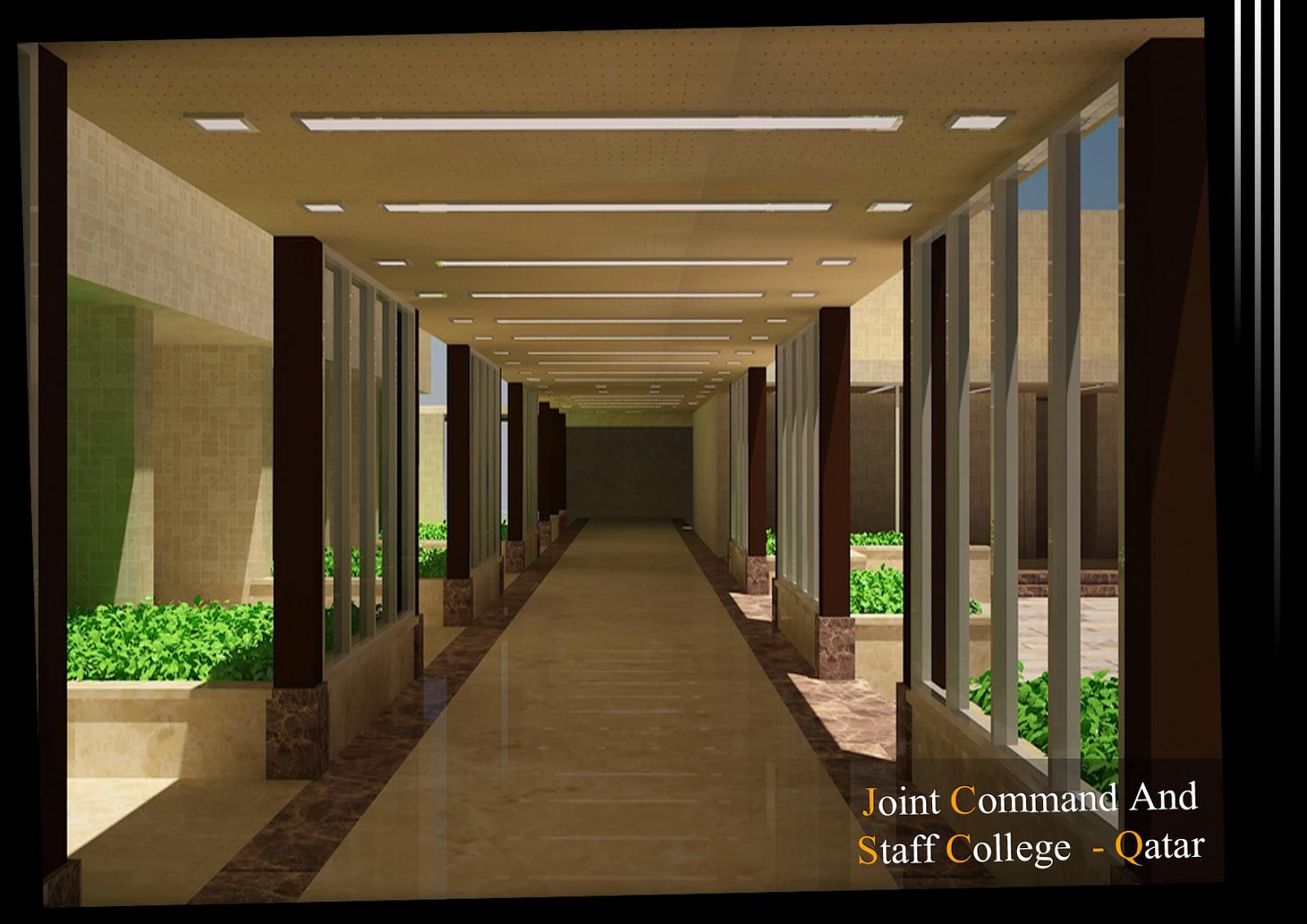 Arch.Michael Boules: Interior Design For Private School - Qatar