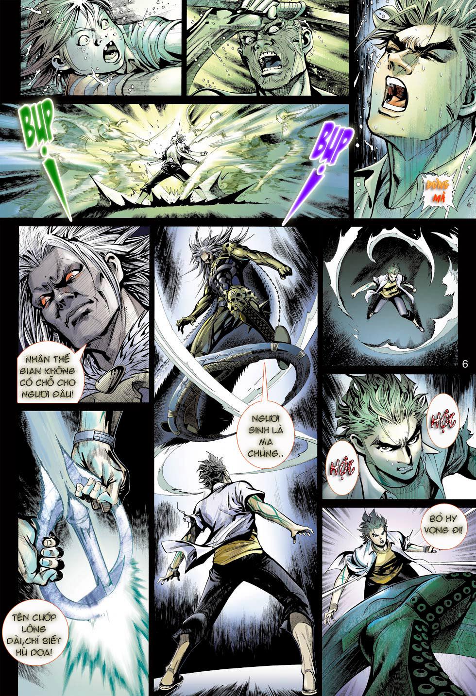 Thần Binh 4 chap 23 - Trang 6