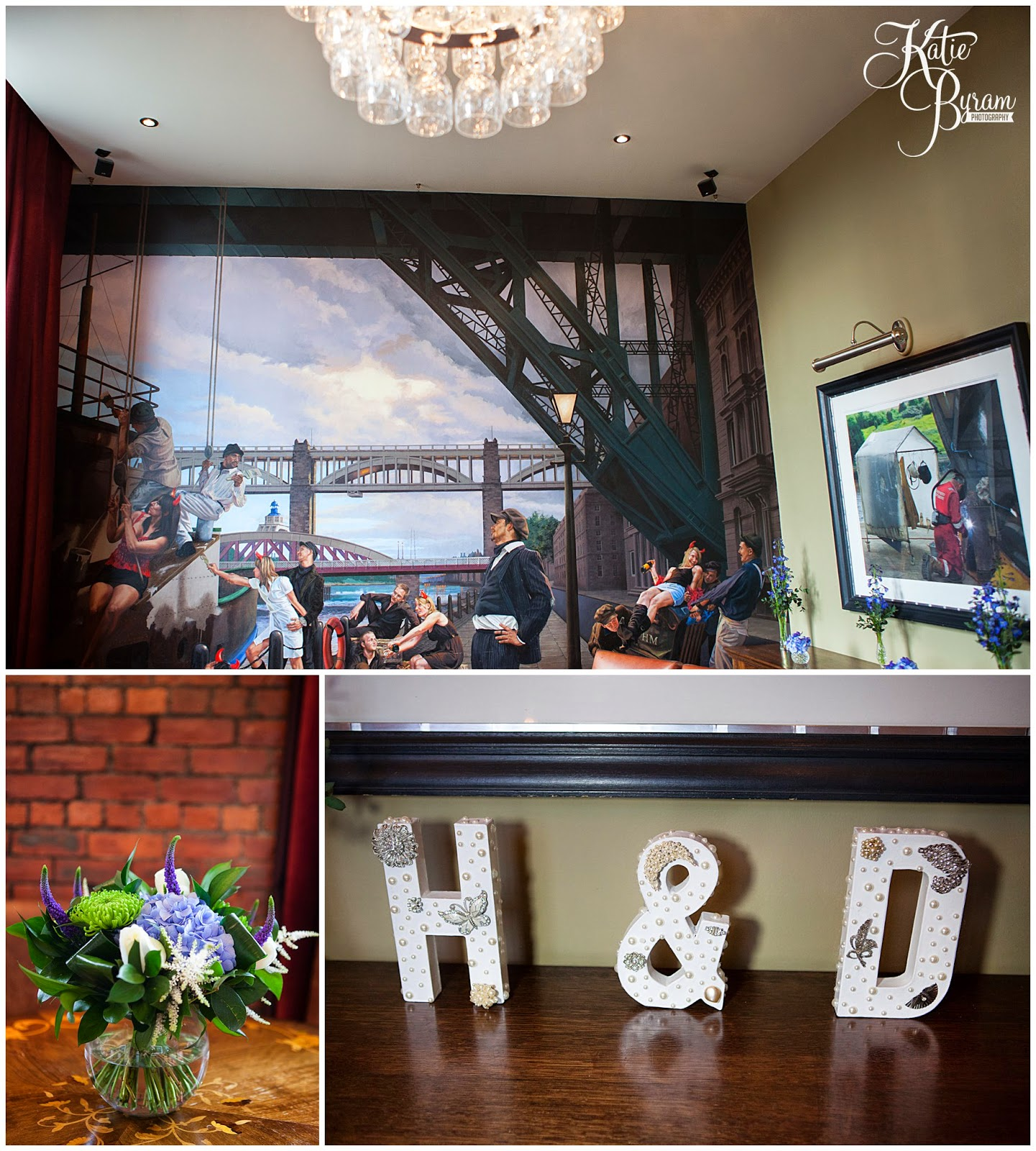 shipyard room at hotel du vin, hotel du vin newcastle, hotel du vin wedding, hotel du vin wedding photographs, hotel du vin newcastle wedding photographs, vintage wedding, small wedding, katie byram photography, newcastle wedding venue, city wedding venue