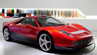 Ferrari 458 Eric Clapton