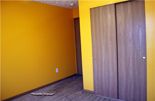 Condo Blues: Craft Room Remodel: Painting Damaged Walls