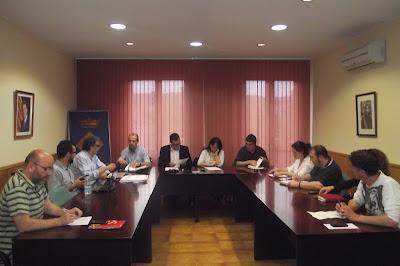 Imatge del Ple de maig de 2012 a Sarrià de Ter. Foto: Ràdio Sarrià