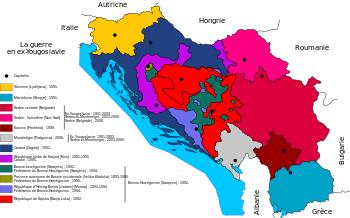 La guerre en Yougoslavie