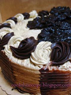 Mocha Crunch Cake Red Ribbon Recipe