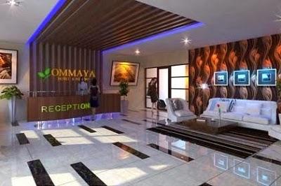 Ommaya Hotel Solo Receptionist
