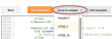 edit html tips on new blogger template html editor blogspot