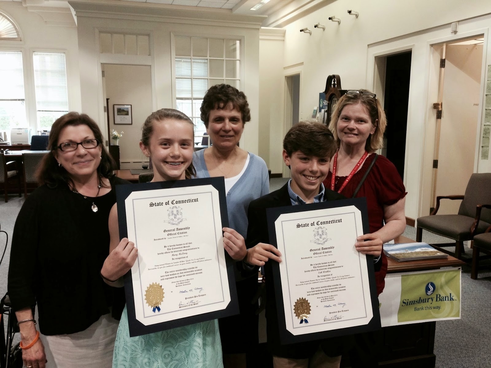 saint mary s school news announcements news for the week of  on their winning essays in senator kevin witkos annual essay contest the writing prompt for this year s essay was describe the american melting pot