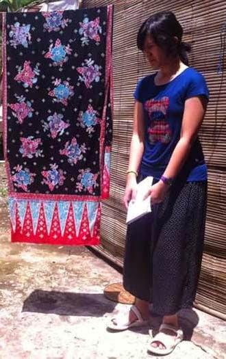 pelatihan Pewarnaan Batik
