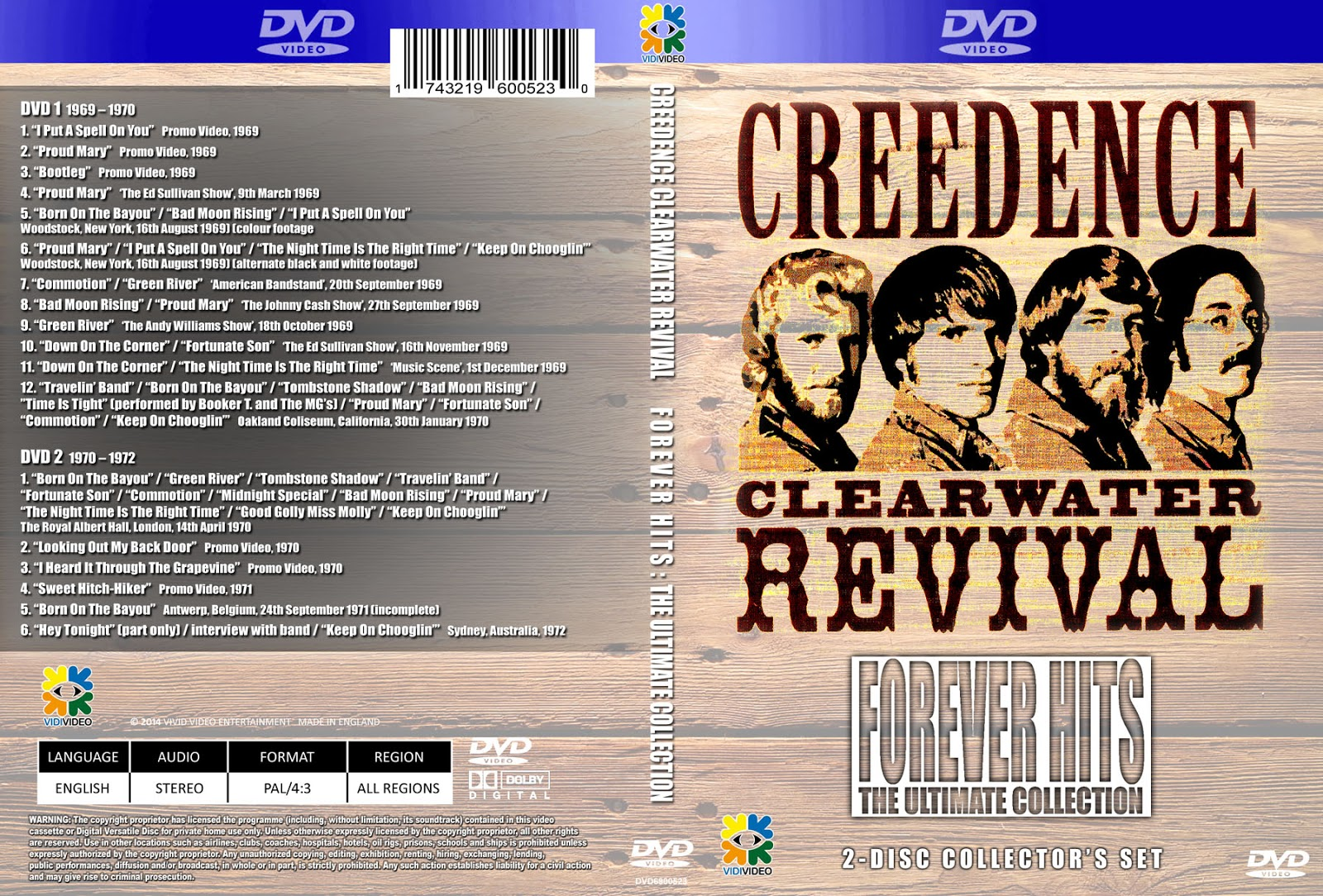 creedence clearwater revival youtube