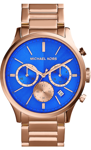 Michael Kors 'Bailey' Chronograph Bracelet Watch, 44mm