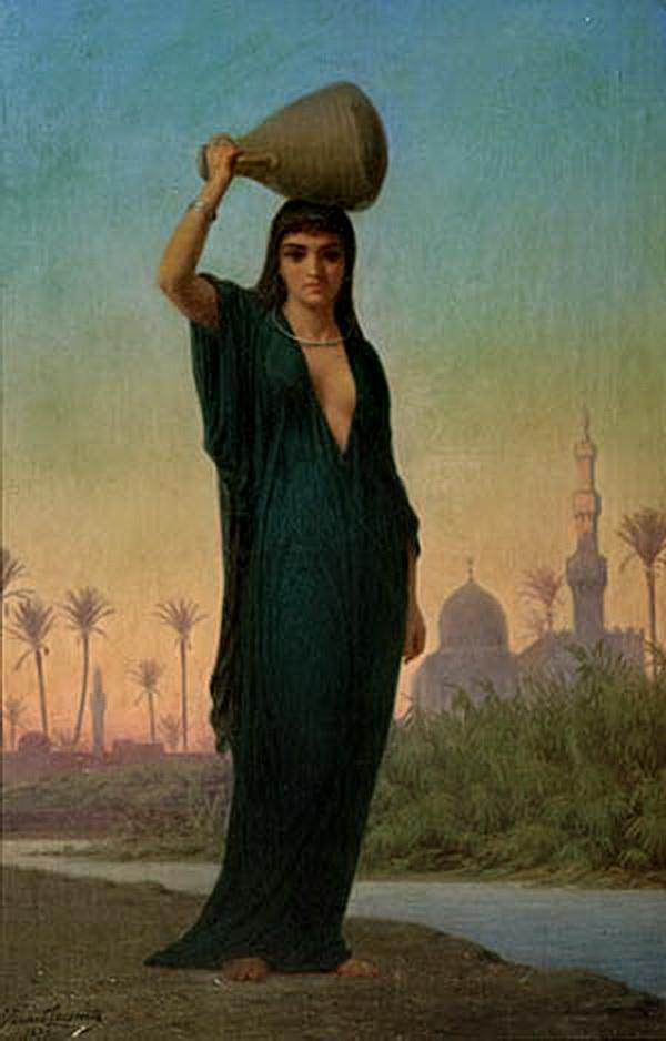 Orientalische Wassertrأ¤gerin 1877.jpg