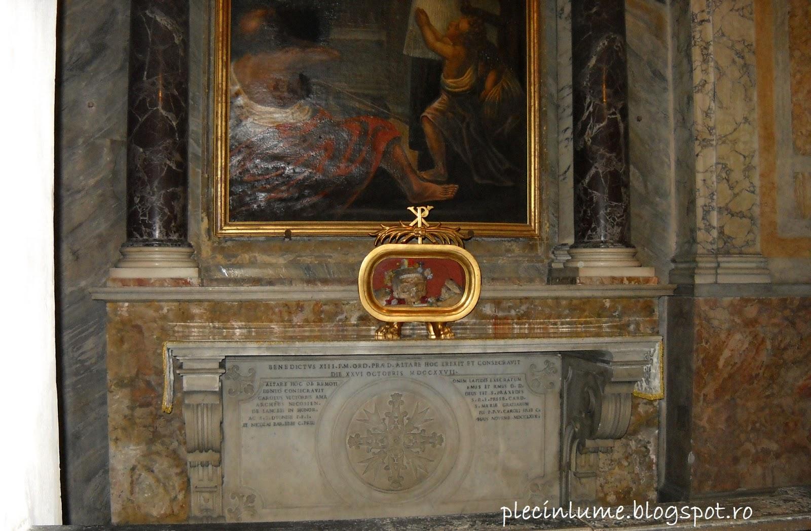 Craniul Sfantului Valentin