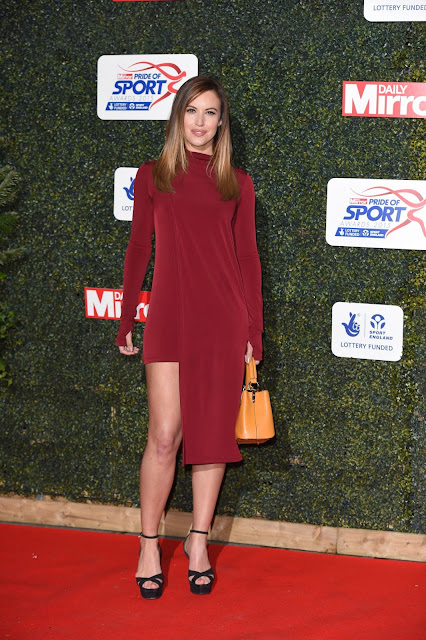 Sports TV presenter, @ Charlie Webster - Daily Mirror Pride of Sport Awards in London
