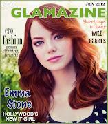 Eco Angel: Jenna DewanTatum. Glamour Gal: Julie Dickson. July 2012