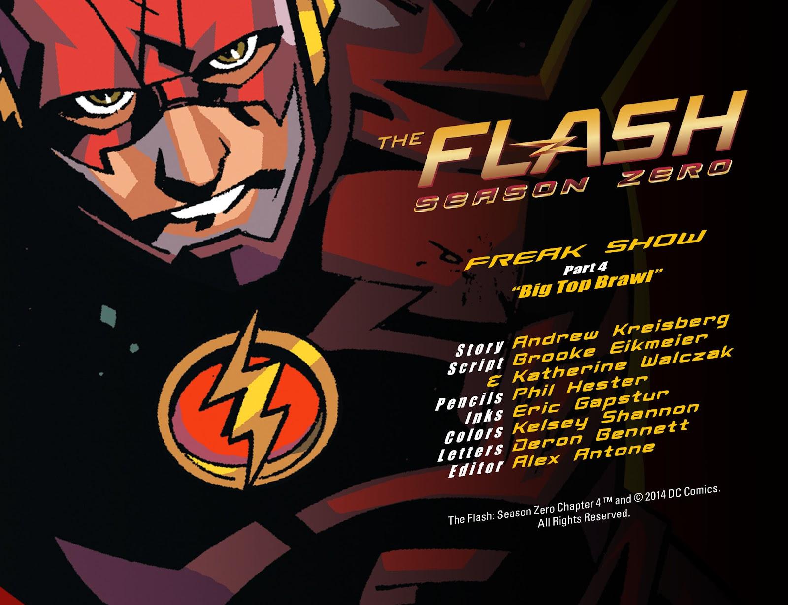 The Flash: Season Zero [I] Issue #4 #4 - English 2