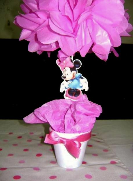 Arreglos De Mesa Minnie Mouse