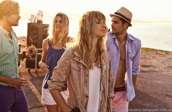 Camisas verano 2014 Tannery moda casual chic 2014.