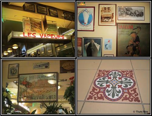 Brasserie Les Vapeurs Trouville déco