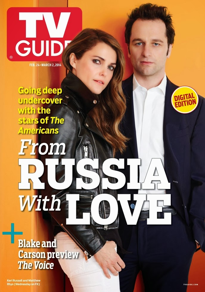 Keri Russell Photos from TV Guide  Magazine Cover March 2014 HQ Scans