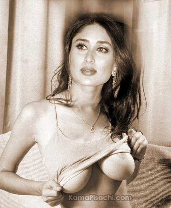 Actress sex: Bollywood Actress Kareena Kapoor Showing Nipples ...