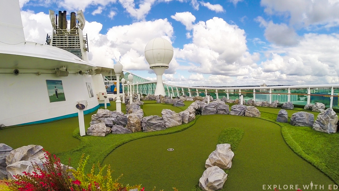 Mini Golf on Explorer of the Seas