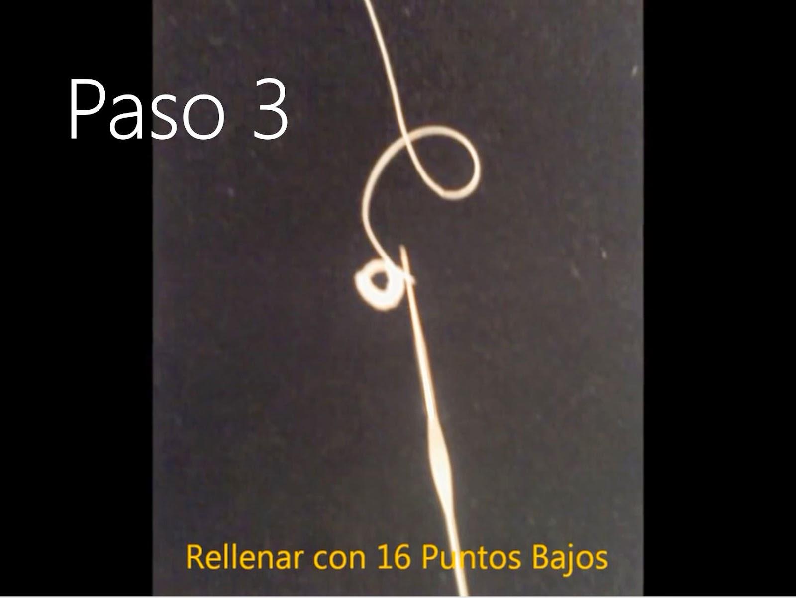 Tapete Flor Paso 3