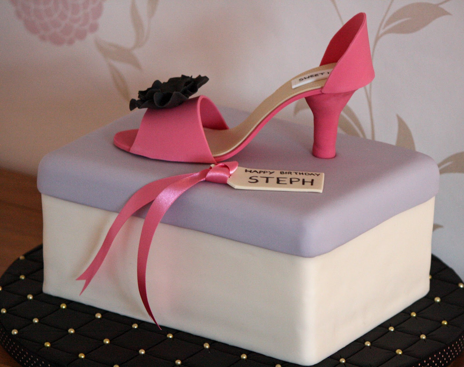 High Heel Shoe Pattern For Cakes