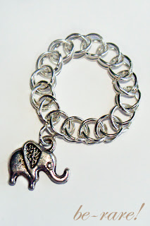 pierścionek chainmaille half persian z zawieszką