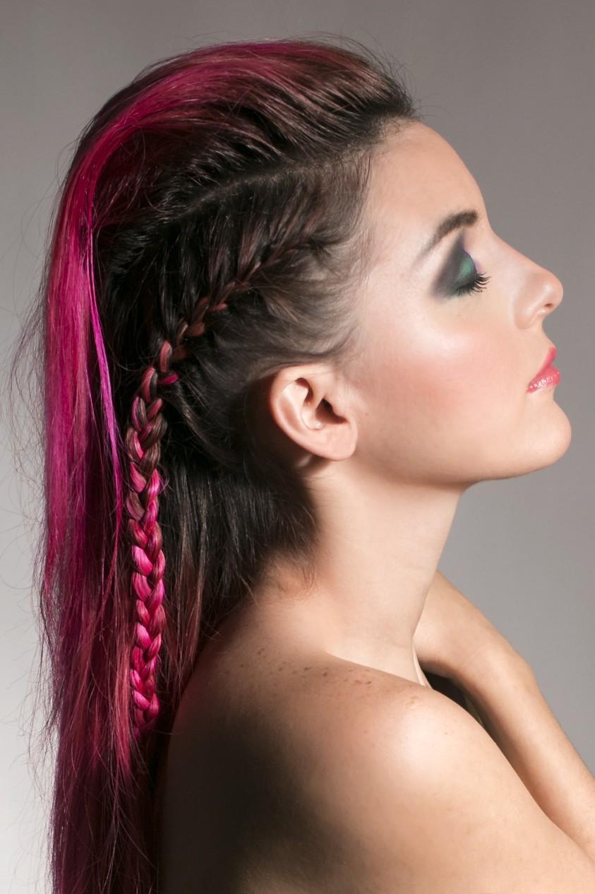 la moda en tu cabello trenza mohicana 2015 2016