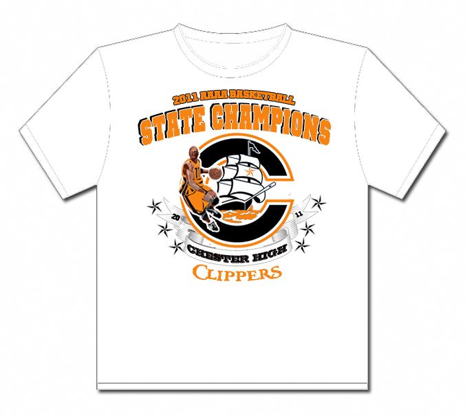 Ms b the good news chester high school basketball state for High school basketball t shirts