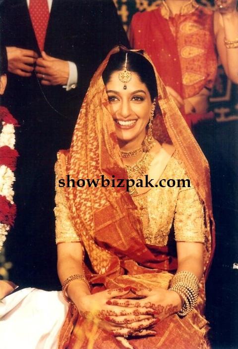 pakistani showbiz actress nadia jamil wedding photos