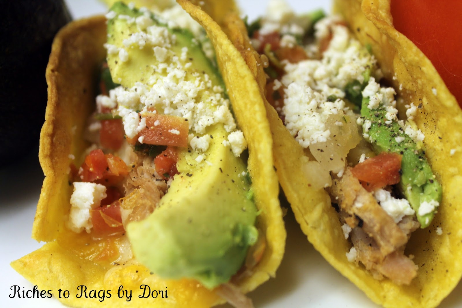 Riches to Rags* by Dori: Shredded Pork Tacos