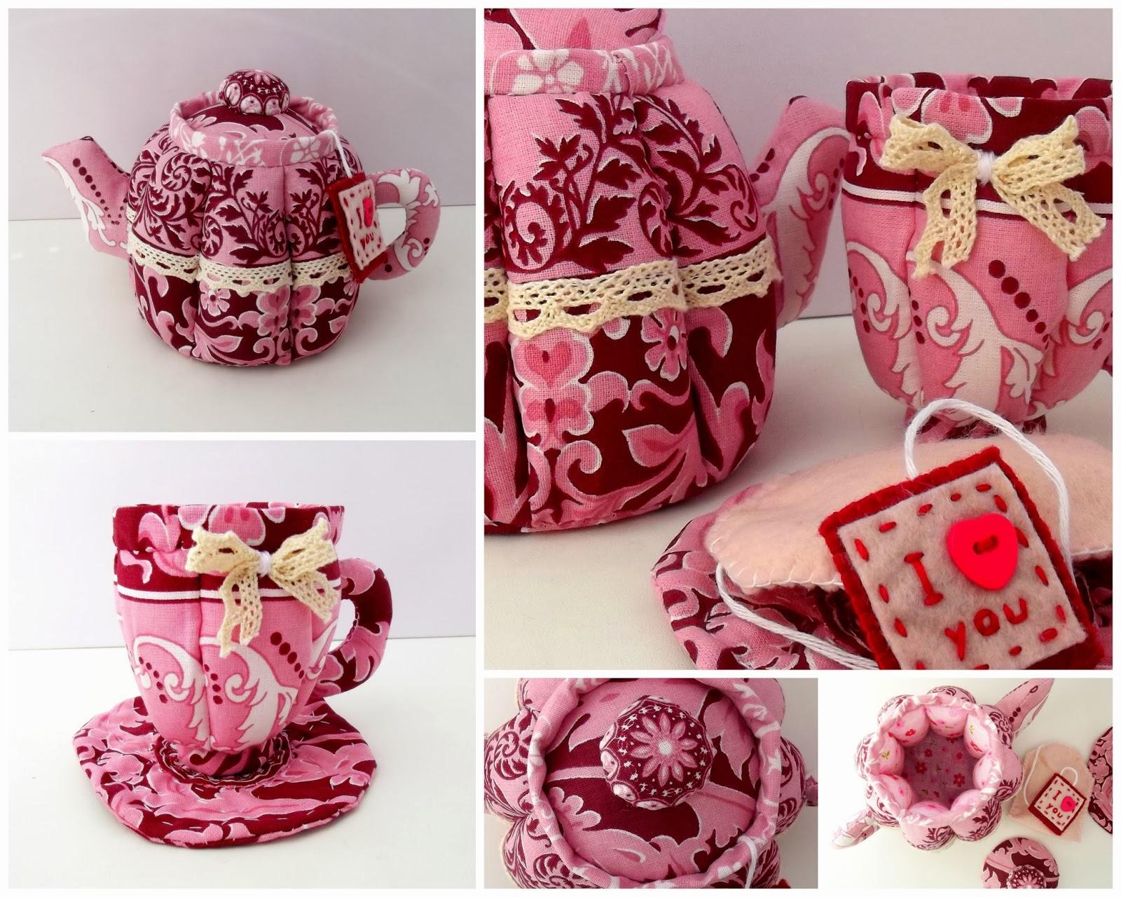 чайник из ткани текстильный чайник