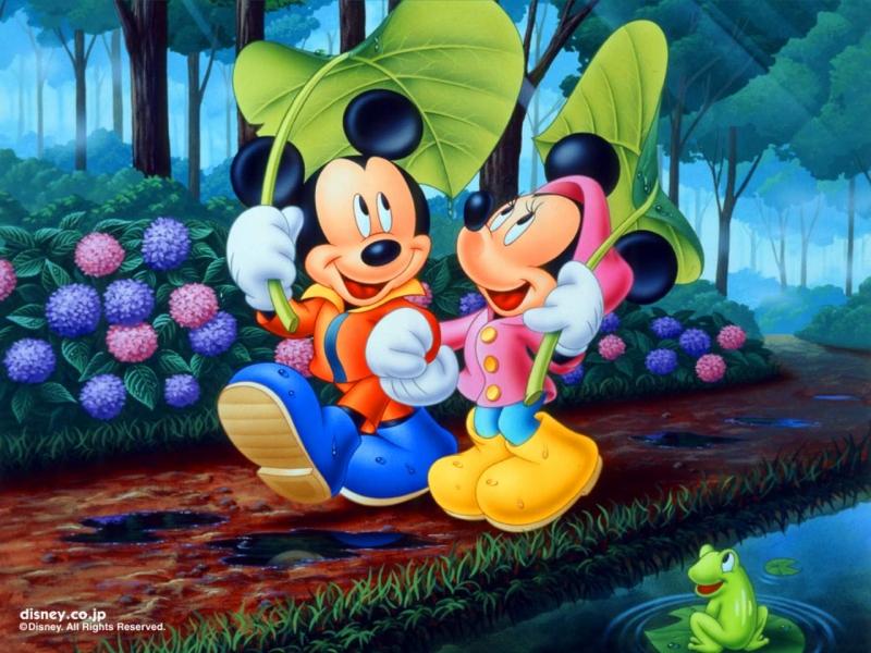 Imagenes De Mickey Mouse Y Minnie Enamorados
