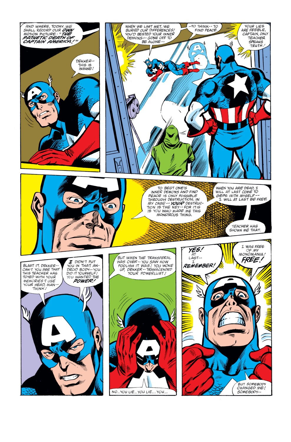 Captain America (1968) Issue #262 #177 - English 20