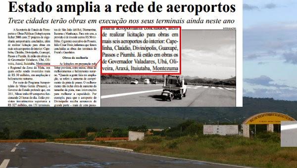 Outro aecioporto: a pista fantasma de Montezuma, cidade de menos de oito mil habitantes