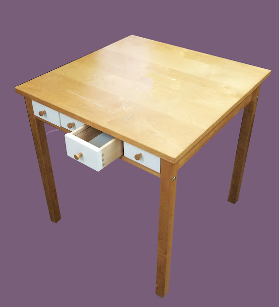 Small Wood Desks with Drawer