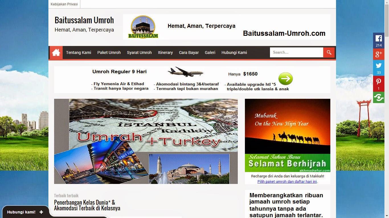SEO Project I: www.Baitussalam-Umroh.com