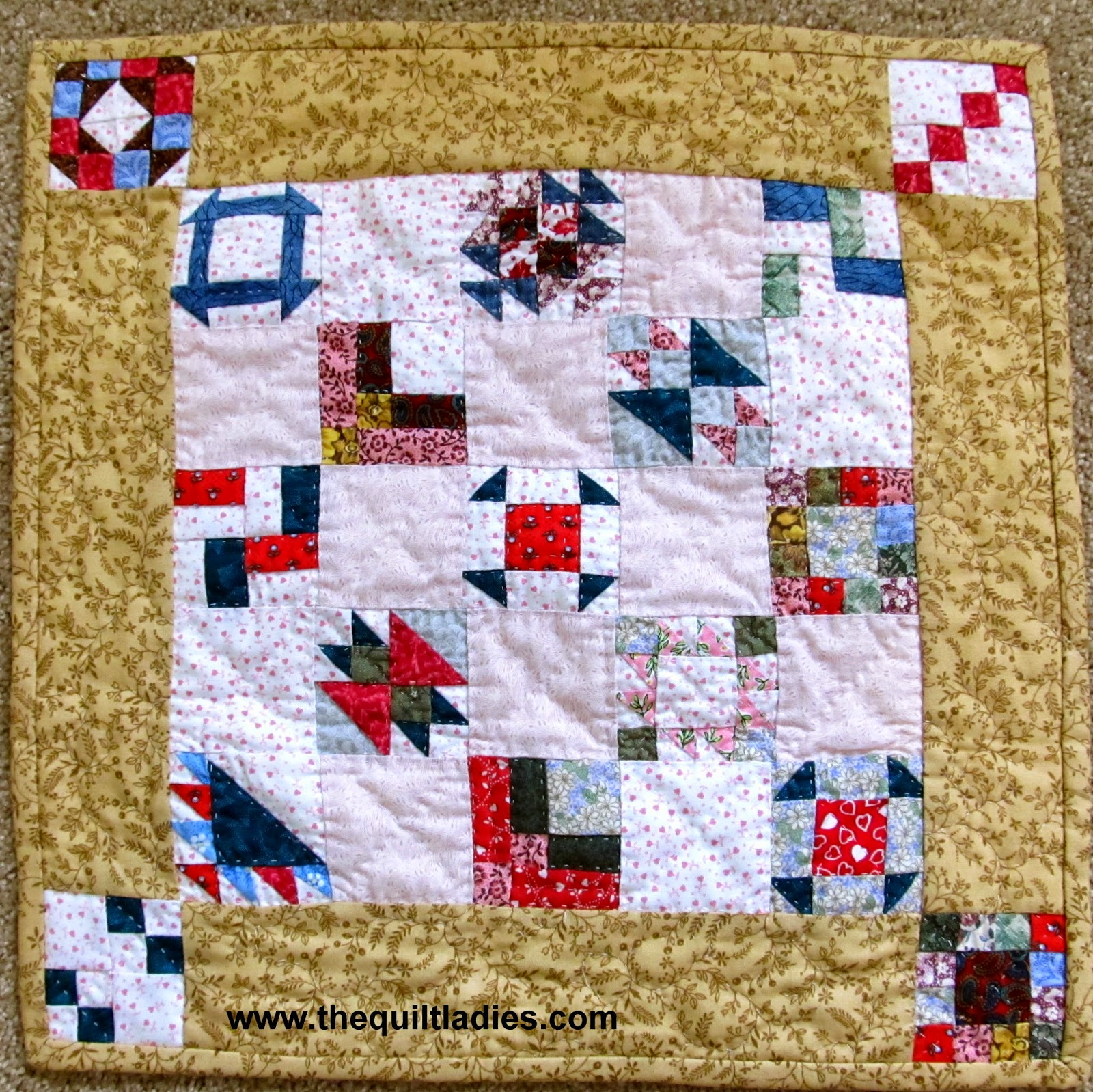 little lady quilt pattern book