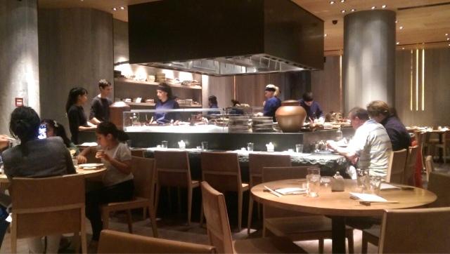 ROKA Aldwych Japanese restaurant interior