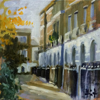 On Wilmington Square by Liza Hirst