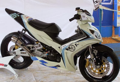 Modifikasi Motor Jupiter Mx Warna