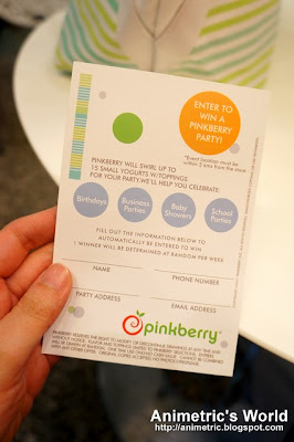 Win a Pinkberry Party!
