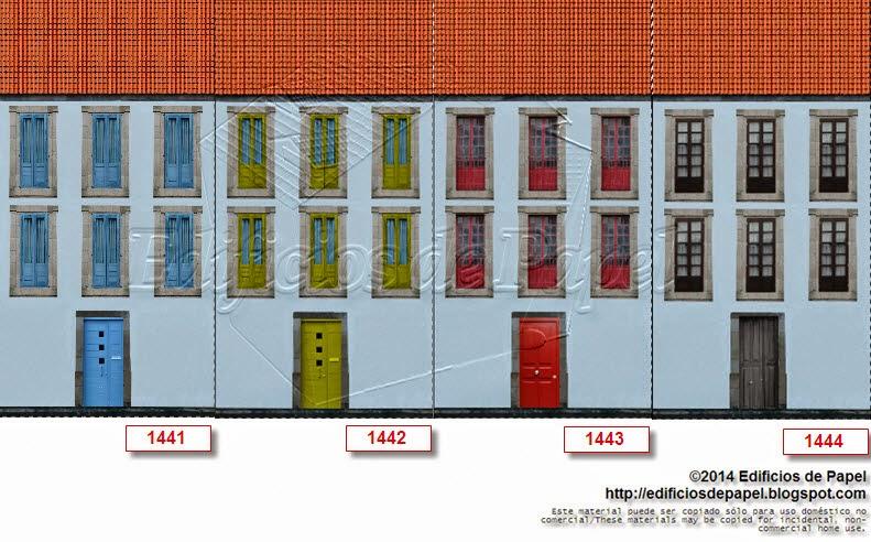 Modelo 1441-1444: Edificio Rehabilitado 3 - 20 modelos
