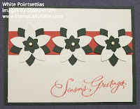 Poinsettia Card made with Stampin'UP!'s 5-petal Punch
