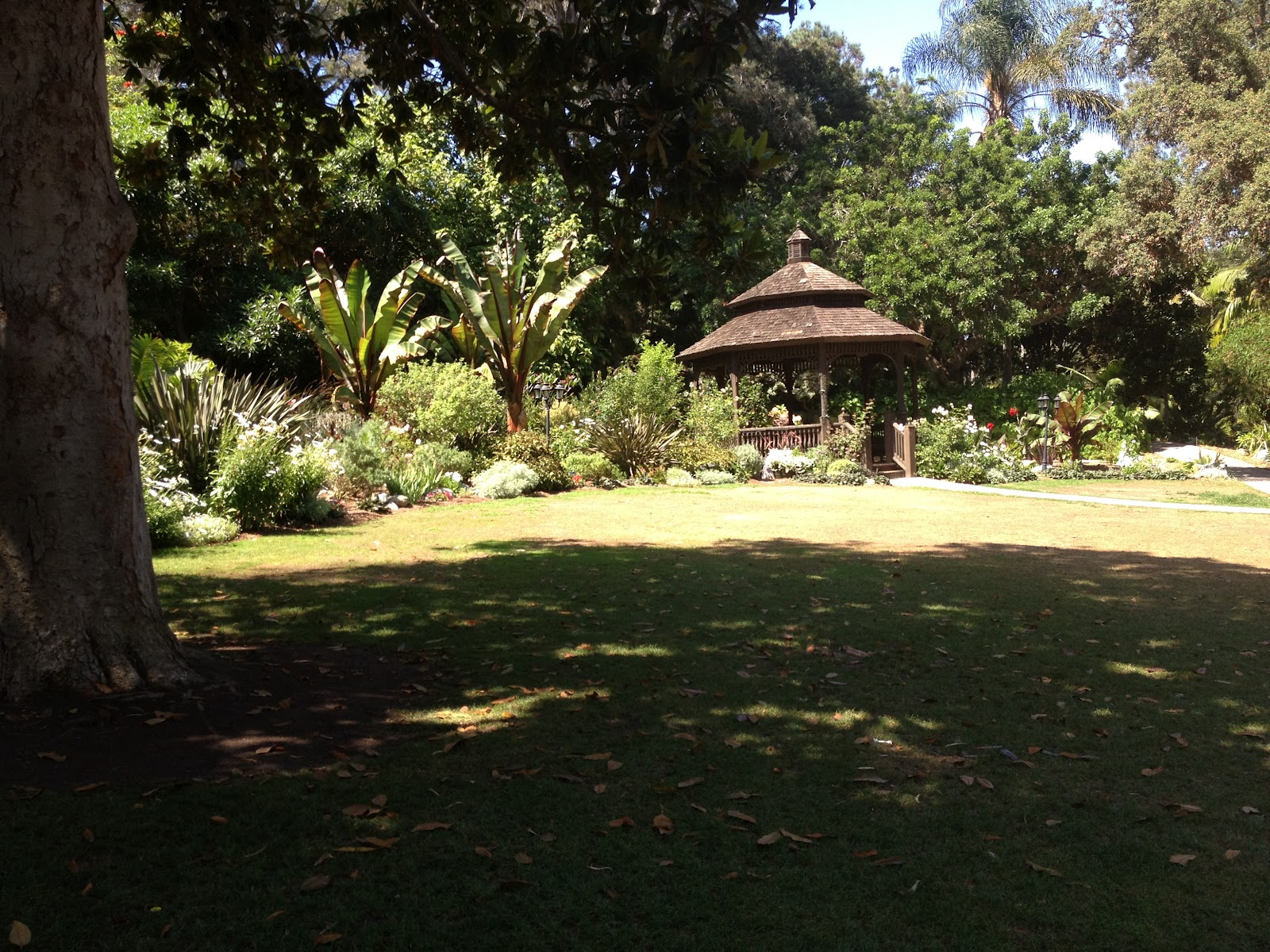Another View Of Gazebo Lawn