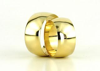 klasik alyans 7 Evlilik Yüzüğü Modelleri