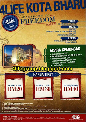4Life Kota Bharu Passport to Freedom Rally