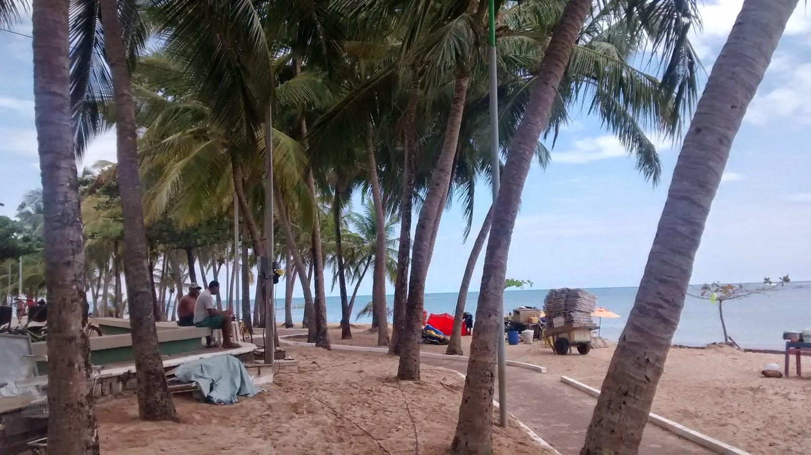 Praia da Ponta Verde.